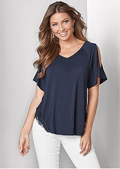 87396dee021aa cold shoulder top