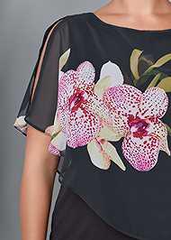Alternate View Chiffon Detail Dress