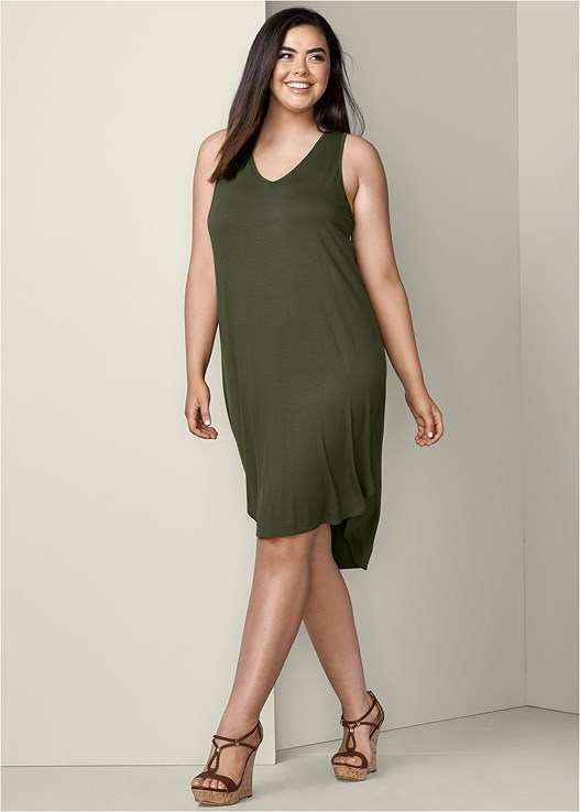 Plus Size EASY TANK DRESS | VENUS