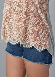 Alternate View Lace Front Top