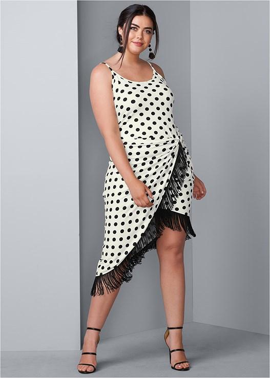 Plus Size FRINGE DETAIL DRESS | VENUS