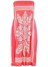 Alternate View Bandeau Dress