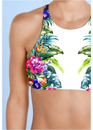Alternate View High Neck Sport Bikini Top