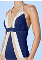 Alternate View Flattering Halter One-Piece