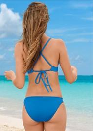Back View Triangle Bikini Top