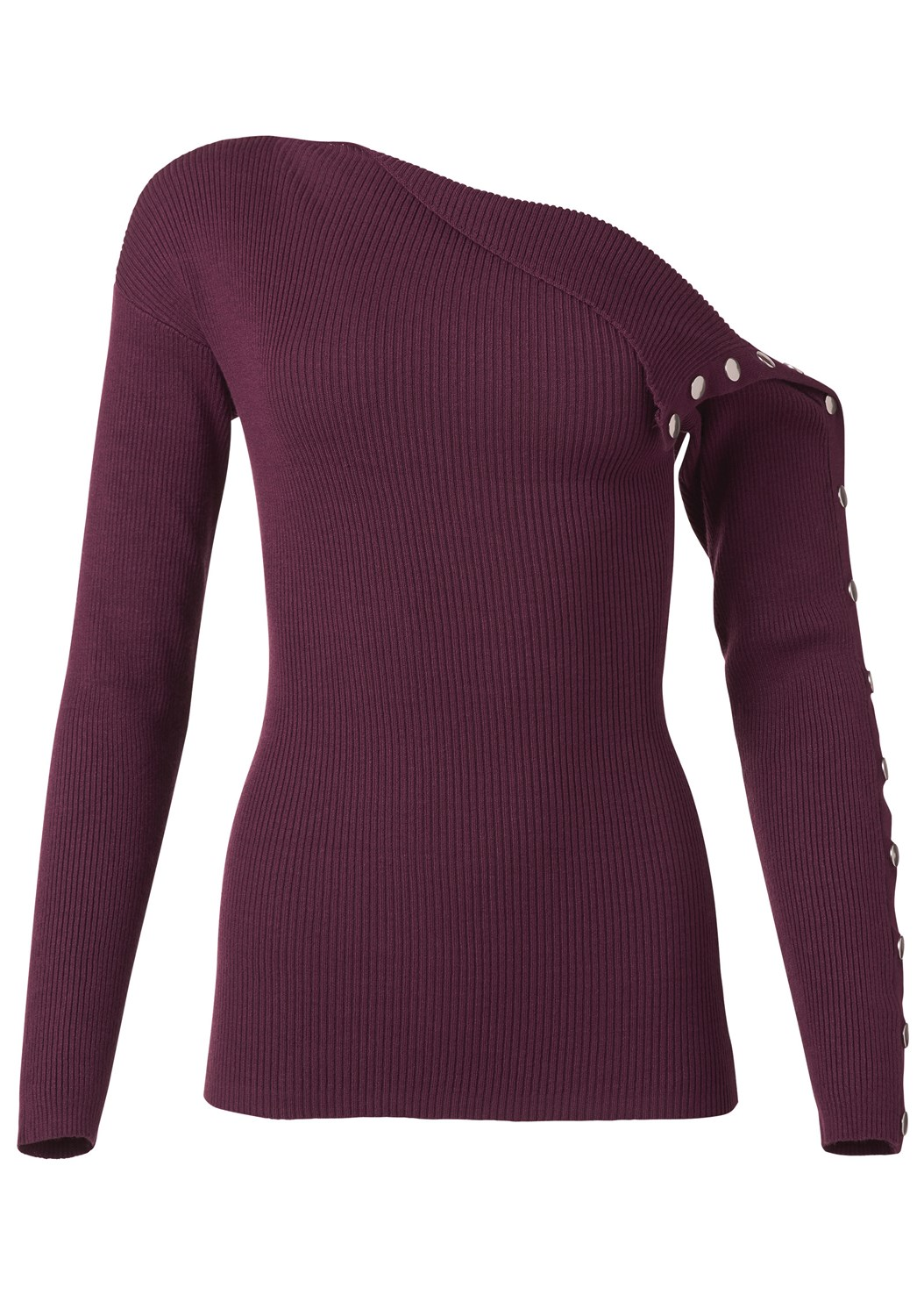 Snap Detail Sweater,Mid Rise Color Skinny Jeans