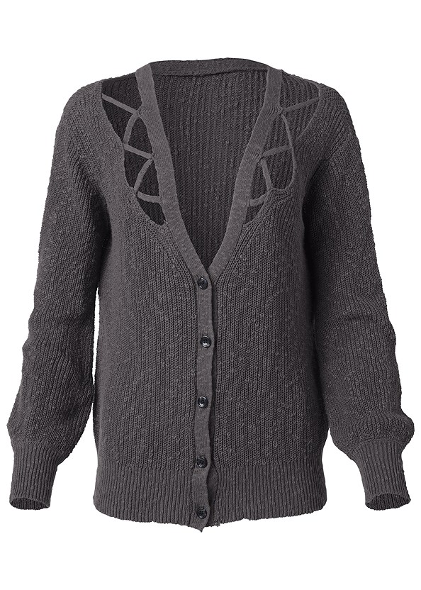 Cut Out Detail Cardigan,Basic Cami Two Pack,Mid Rise Color Skinny Jeans