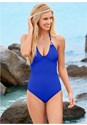 Front View Strappy Back One-Piece