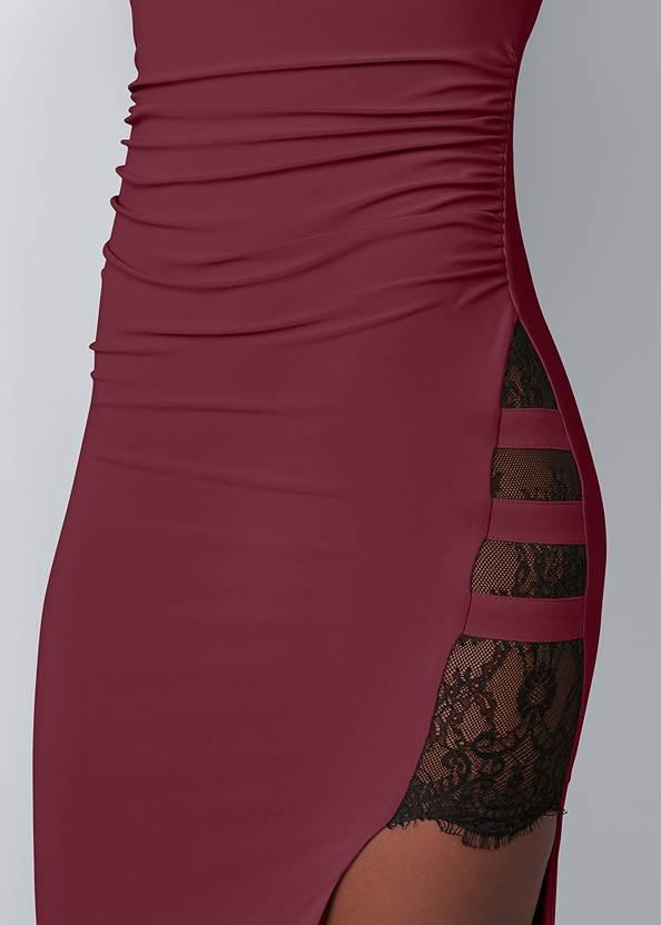 Alternate View Lace Detail Long Dress