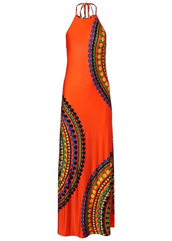 Alternate View Strappy Maxi Dress