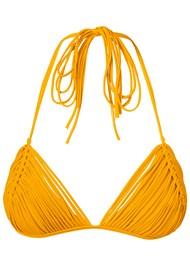 Alternate view Macrame Triangle Bikini Top