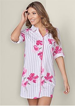 floral sleep dress