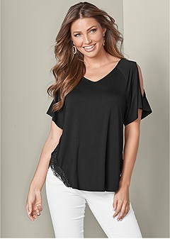 250350f9c84ee cold shoulder top