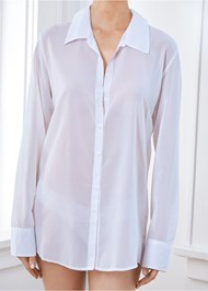 Alternate View Sheer Button Up Sexy Shirt