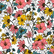Retro Floral (REF)