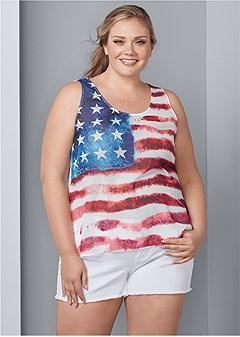 caee56ffbc23 Women's Plus Size Tops | Cold Shoulder, Lace & Tank Tops | VENUS