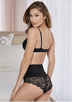 lace back waist control 2pk