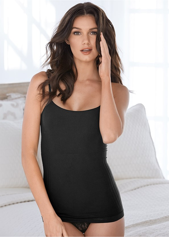 Seamless Shaping Cami 2Pk,Lace Thong 3 For $19