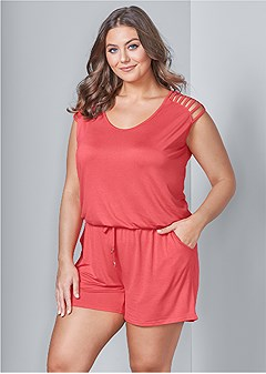 1d9cf2bf4fe Clearance: Plus Size Jumpsuits & Rompers | Venus