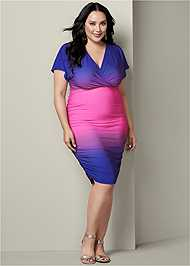 Alternate View Ruched Detail Dress
