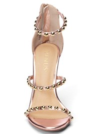 Alternate View Studded Strappy Heels