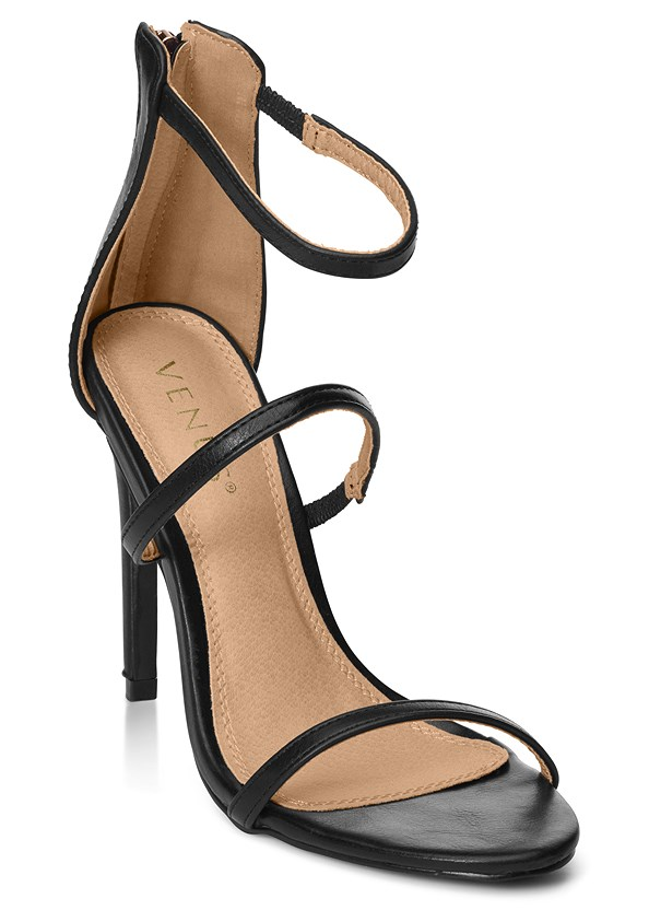 High Heel Strappy Sandals