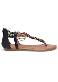 Alternate View Embellished Rope Sandals