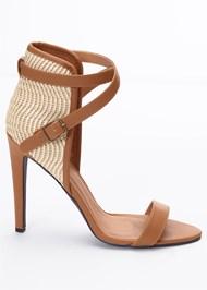Alternate View Raffia Detail Heels