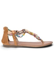 Alternate View Embellished Rope Sandals