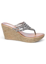 Alternate View Embellished Wedges