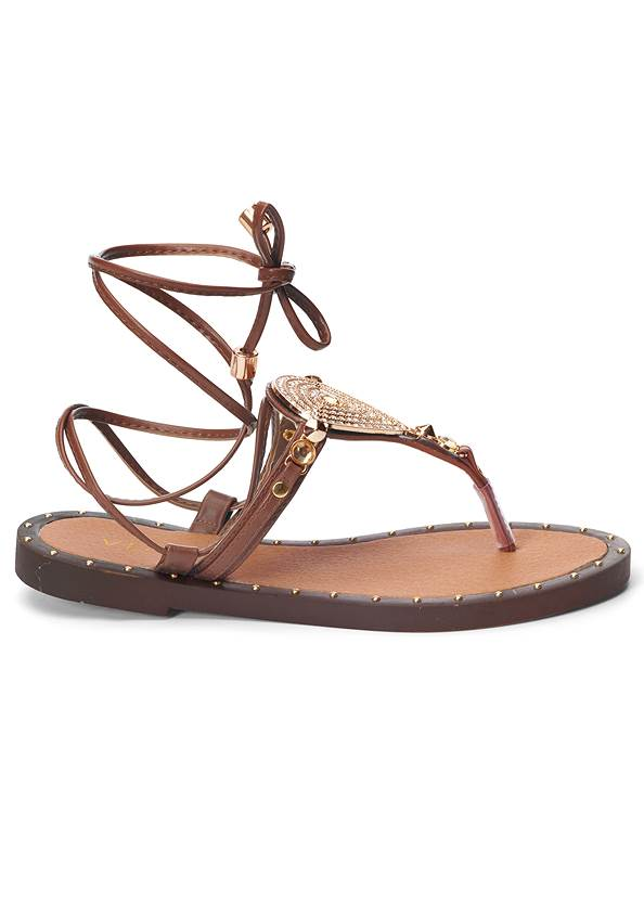 Alternate View Lace Up Gladiator Sandals