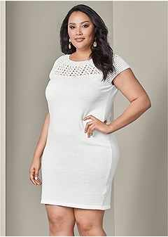 plus size bodycon sweater dress