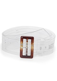 transparent belt