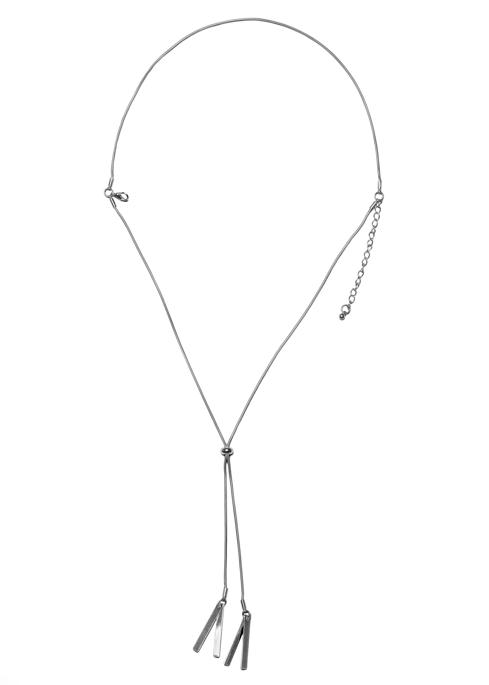 Bolo Charm Necklace in Silver | VENUS