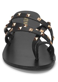 Alternate View Studded Strappy Sandals