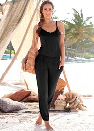 Front View Casual Jumpsuit