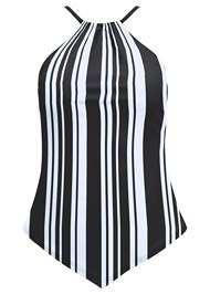 Alternate View High Neck Tankini Top