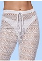 Alternate View Crochet Mesh Cover-Up Pant