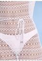 Alternate View Crochet Mesh Cover-Up Dress