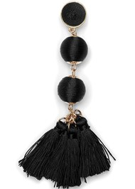 Alternate View Bauble Fringe Earrings
