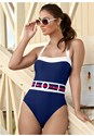 Front View Belted One-Piece