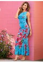 Alternate View  Floral Print Maxi Dress