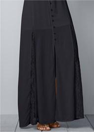 Alternate View Cold Shoulder Maxi Dress