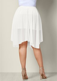 Alternate view Mesh Midi Skirt