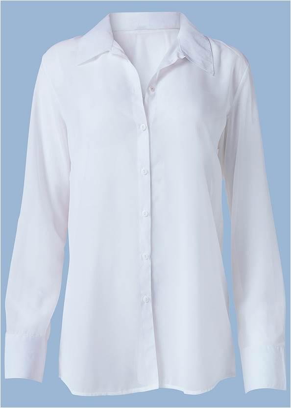 Alternate View Sheer Button Up Sexy Shirt