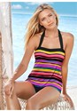 Front View Halter Tankini Top
