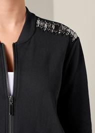 Alternate View Jeweled Lounge Jacket
