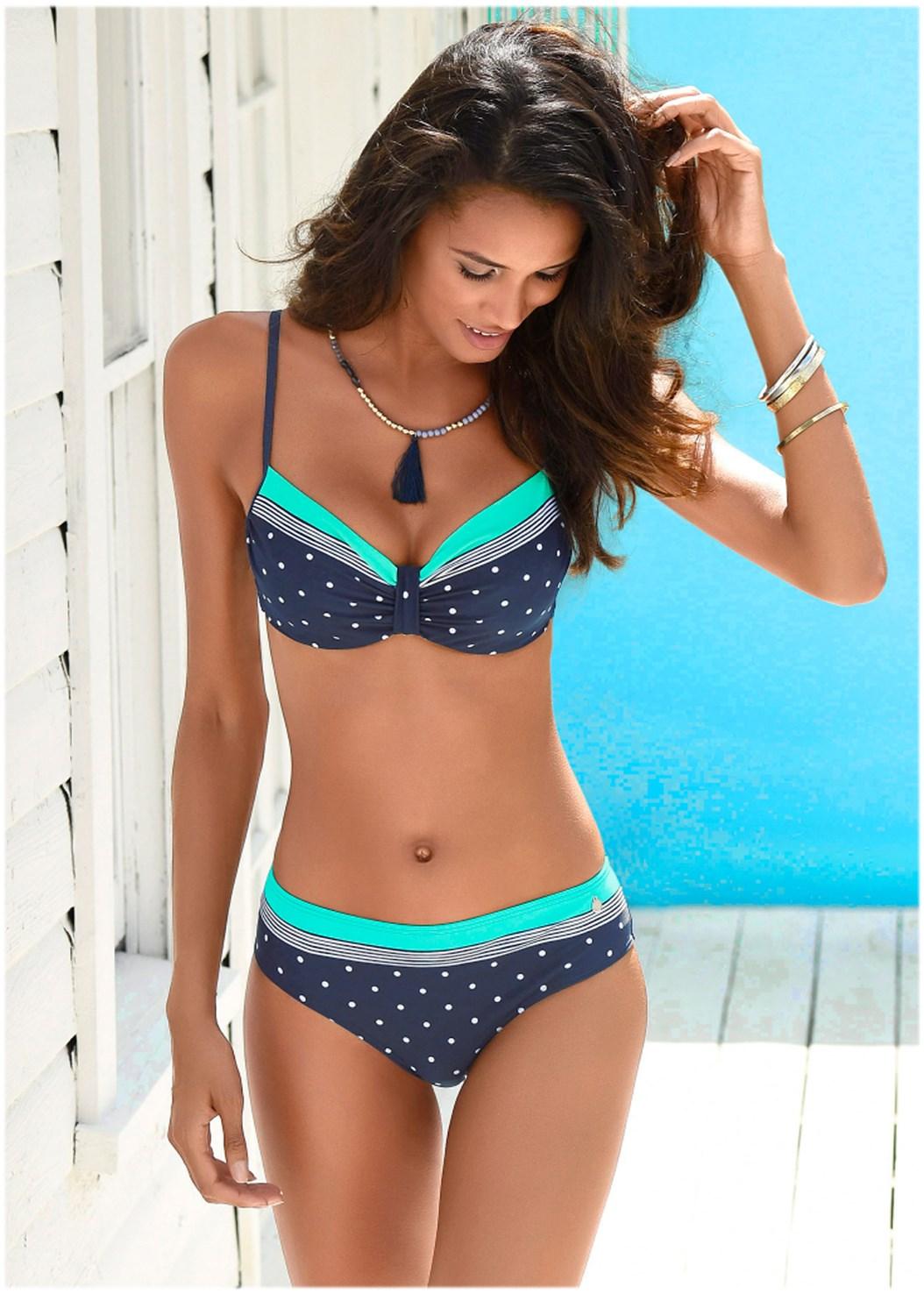Mid Rise Bikini Bottom,Underwire Bikini Top,Underwire Tankini Set,Triangle String Bikini Top