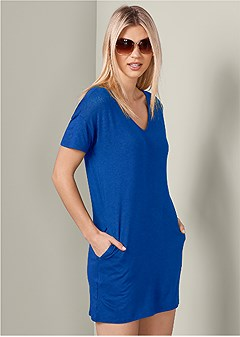 casual t shirt dress