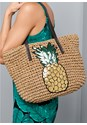 Alternate View Pineapple Tote Bag